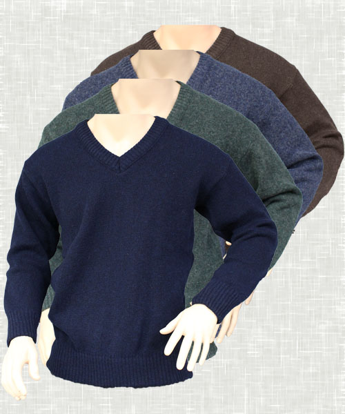 Vee Neck Jumper | 6031