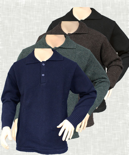 Longline Button Jumper | 6034
