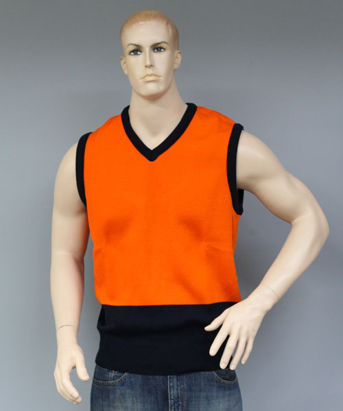 HiVis V Neck Vest (Orange) | V26SL