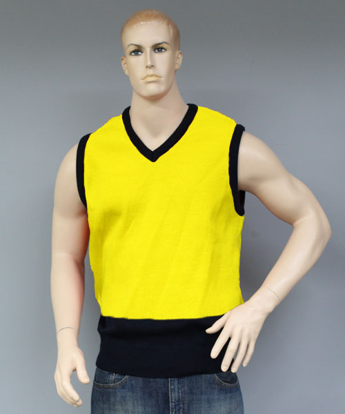 HiVis V Neck Vest (Yellow) | V26SL