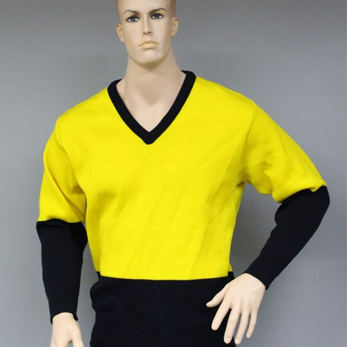 HiVis V Neck Pullover (Yellow) | V26