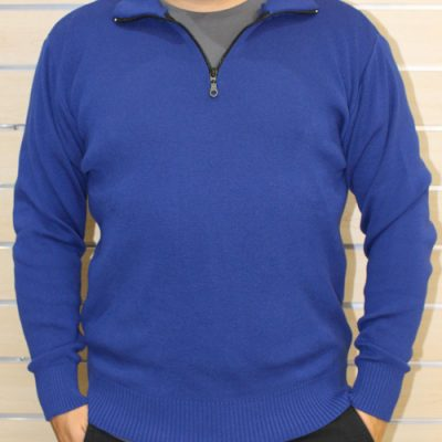 1/4 Zip Jumper - Electric Blue