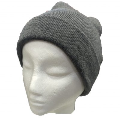 BGB36 Ballarat Gold Pure Wool Fine Knit Beanie in Wallaby Colour