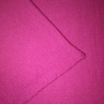 Ballarat Gold Pure Wool Scarf Jersey Loop Infinity Scarf in Magenta Colour
