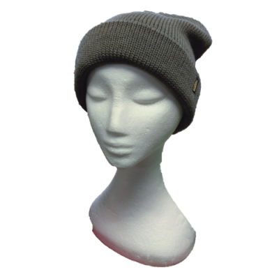 BGB31 Moccha Thick Knit Pure Wool Beanie