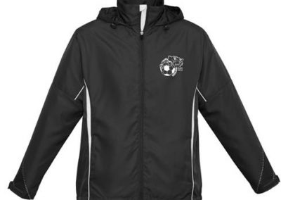 BNUSC Spray Jacket - front view